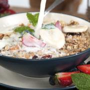 Granola in bowl - O'Donnells Bakery, Killorglin