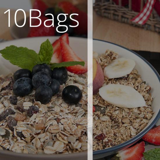 10 Bags of Meusli & Granola - O'Donnells Bakery, Killorglin