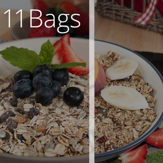 11 Bags of Meusli & Granola - O'Donnells Bakery, Killorglin
