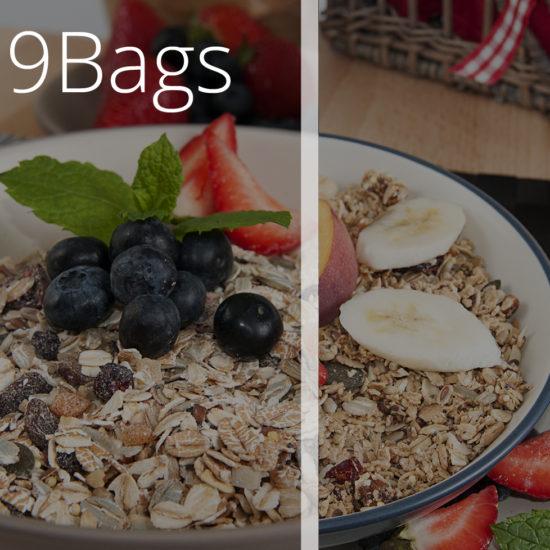 9 Bags of Meusli & Granola - O'Donnells Bakery, Killorglin